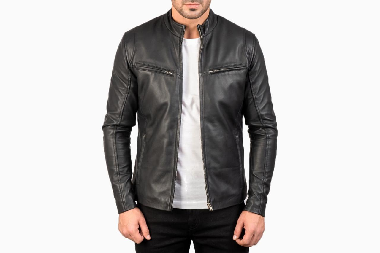 best leather men jacket maker ionic review - Luxe Digital