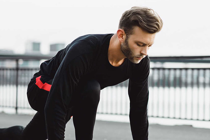 best men workout clothing brand real essentials - Luxe Digital
