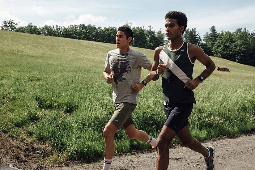 best men workout clothing brand tracksmith - Luxe Digital