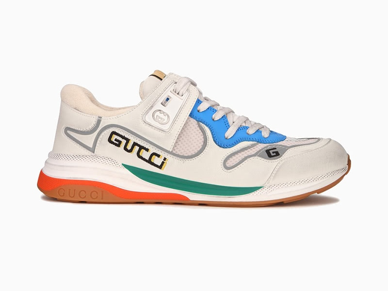 Gucci white ultrapace men dad sneakers - Luxe Digital