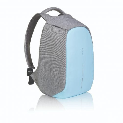Bobby-Compact-Anti-Theft-backpack,-Pastel-Blue