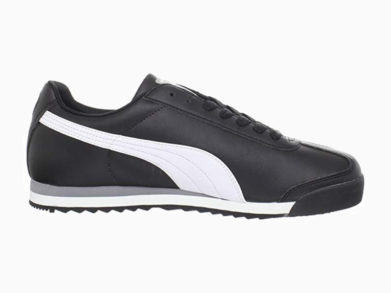 Puma Roma Black and White men sneakers - Luxe Digital